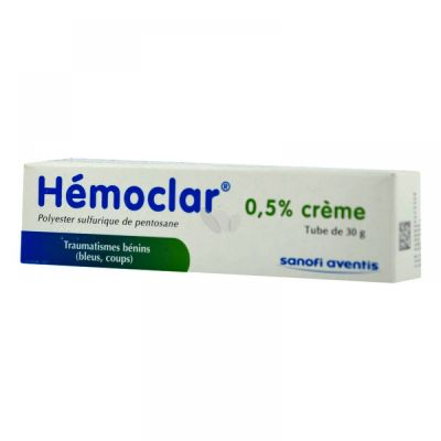Prix de HEMOCLAR 0,5% CREME 30g T/1 - Sanofi Aventis France