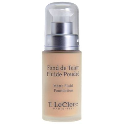 prix de t leclerc fond de teint fluide poudr spf 15 beige abricot 30 ml. Black Bedroom Furniture Sets. Home Design Ideas