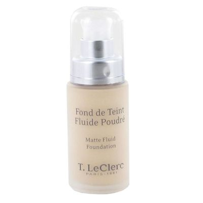 prix de t leclerc fond de teint fluide poudr spf 15 01 ivoire mat 30ml. Black Bedroom Furniture Sets. Home Design Ideas