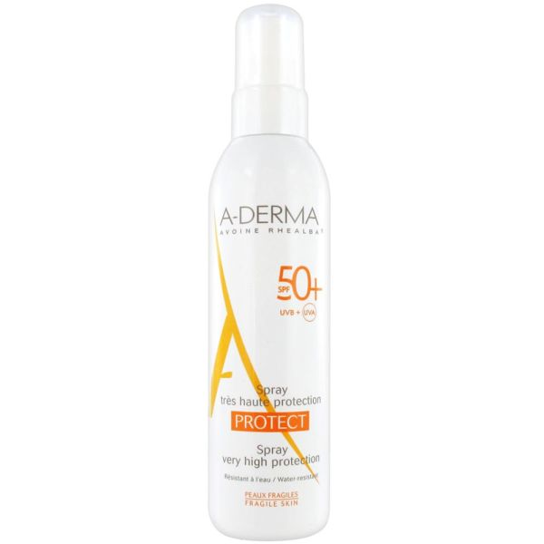 A-Derma - Spray très haute protection Protect 50+ - 200 ml